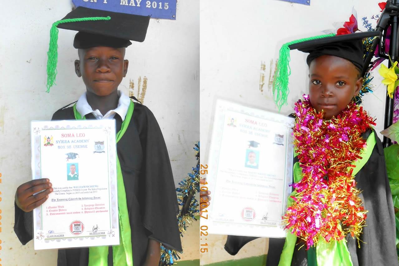 Celebrating Graduation Day at Soma Leo Nyiera Academy