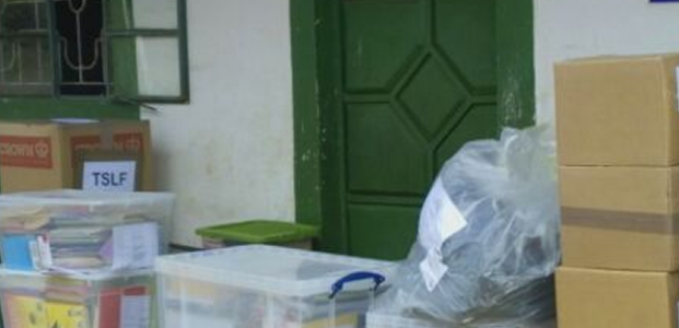 Christmas Appeal Container reaches Nyiera